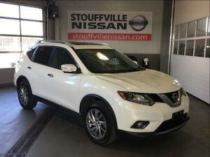 Nissan Rogue sl leather seats and factory navigation 2014