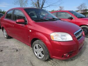 2008 Chevrolet Aveo LT Automatic (APPROBATION GARANTIE A 100%)