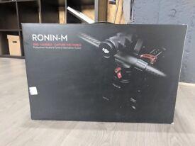 DJI Ronin M + Travel Case (Still in Warranty) £750