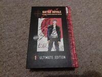 Battle Royal Ultimate Edition Volume 1 Manga Book