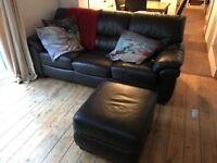 Dark Chocolate 3 Seater Sofabed (Originally from Harvey's)