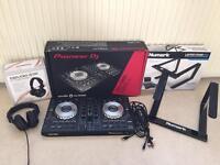 Pioneer DDJ SB2. Stereo Headphones. Newmark Laptop stand (REDUCED). Dj decks controller
