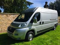special edition 2010 Citroen relay lwb met paint air con nav bluetooth colour coded very low miles
