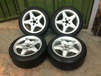Mercedes 2003-2012 Vito / Viano W639 Alloy Wheel Wheels 235/45/17 need attention