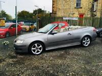 Saab 9-3 vector convertible 56 reg low mileage 1 year mot leather interior px welcome