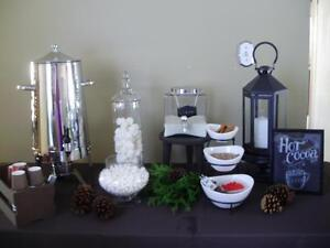Hot Chocolate Bar to Cap off the Eve. for Rent