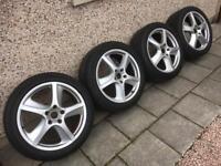 Porsche Cayenne, Audi Q5, Q7, Vw Touareg alloys and tyres.