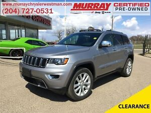 2017 Jeep Grand Cherokee Limited 4WD *Nav* *Backup Cam* *Heated