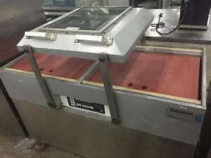 Bizerba Double Vacuum Packaging Machine - Commercial Vacuum Sealer / Food Sealing - iFoodEquipment.ca