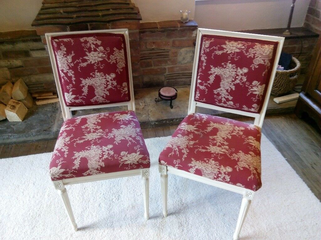 2 Decorative Bedroom Chairs