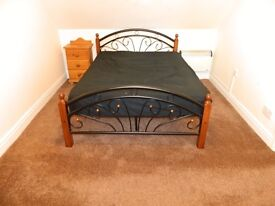 FLAT TO LET/RENT - FULLY FURNISHED - NO SHARING - INCLUDING WATER & COUNCIL TAX - CLEAN AND QUIET