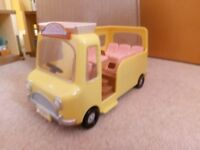 sylvanian mini bus