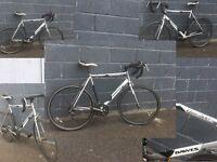 Dawes giro 200 gents road bike 14 speed 23 inch aluminium frame 700c alloy wheels