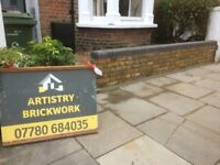 Artistry Brickwork Ltd are a bricklaying company who specialise in domestic brickwork services.