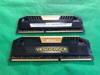 Corsair 16GB (2x8GB) DDR3 Vengeance Pro Series Gold, PC3-19200 (2400)