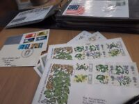 QUANTITY OF GB FIRST DAY COVERS IN ALBUM