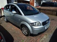 Audi A2 1.4 Petrol Special Edition Hatchback 82000 miles with full MOT