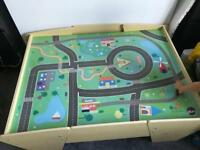 Toy train / car table