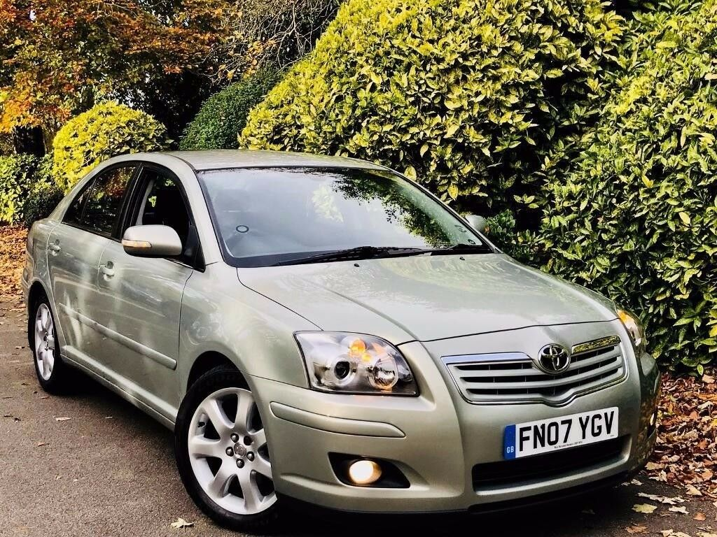 **49K MILES+AUTO** TOYOTA AVENSIS 2.0 T4 AUTO + FULL 11 STMP TOYOTA HSTRY + 1OWNR + SATNAV + AS NEW