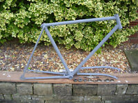 Road Bike Frame ( Suitable for fixie coversion)