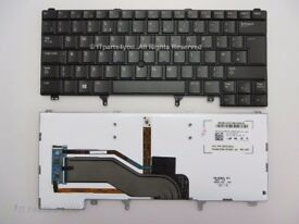 MHRXC Dell New UK Backlit WIN8 Keyboard for Latitude E6330/ E6430/ E5420