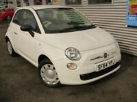 FIAT 500 1.2 POP 3d 69 BHP **£99 DEPOSIT £125 A (white) 2014