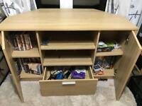 Corner tv unit like new