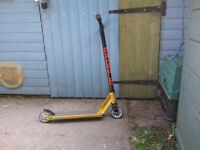 Stunt scooter for sale in good condition- very little used