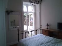 Pretty 2 bedroom garden flat in Highgate for the sloane square area