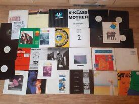 34 x level 42 mike lindup vinyl LPs / promos /