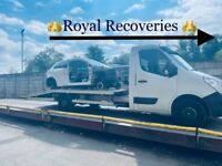 Royal Recoveries & recycling... we want your old cars