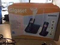 Cordless Siemens Telephones x 2