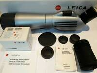 Leica APO Televid 77 spotting scope with Leica 32X WW eyepiece