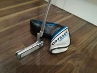 ODYSSEY Works Versa 1 , putter and head cover