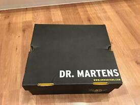 DR. MARTEN steel toe cap boots