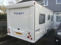 Bailey Ranger 460/4 4 Berth Caravan