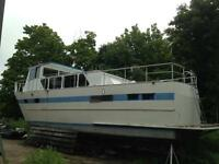 42' Aluminum Dive Boat/ Trawler Project (Cliff Richardson Built)