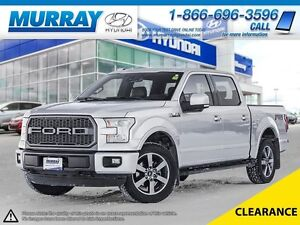 2015 Ford F-150 4WD LARIAT SUPERCREW FX4