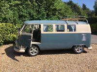 Volkswagen splitscreen 1967 camper bus van (Californian Import) LHD