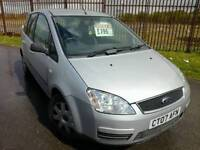 2007 FORD C-MAX 1.6 LX - CHEAP PX TO CLEAR, MOT NOVEMBER, 103K MILES, SERVICE HISTORY!!.