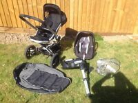 Quinny Buzz and Maxi Cosi Pebble and accessories