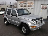 2002 Jeep Liberty Limited Edition ***4X4, CUIR***