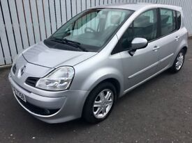 2008 RENAULT GRAND MODUS 1.2 TCE DYNAMIQUE F/S HISTORY CHEAP TAX AND INSURANCE