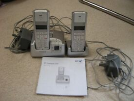 BT Freestyle 250 two-handset cordless telephone