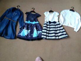 Girls dresses bundle 5-6&6-7yrs ml5