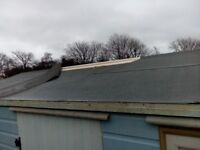 Shed roof is leaking