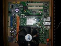 MSI - 7301 ver: 1.0 Motherboard + Processor & Fan £15