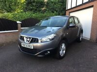 PRIVATE 2013 NISSAN QASHQAI DIESEL WITH 51000 MILES, 1 OWNER, FSH,8 MONTHS MOT