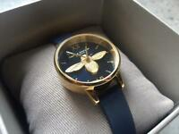 Olivia Burton Bee Watch (Navy and Gold)