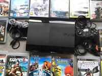 Sony Playstation 3 500GB with 35 games